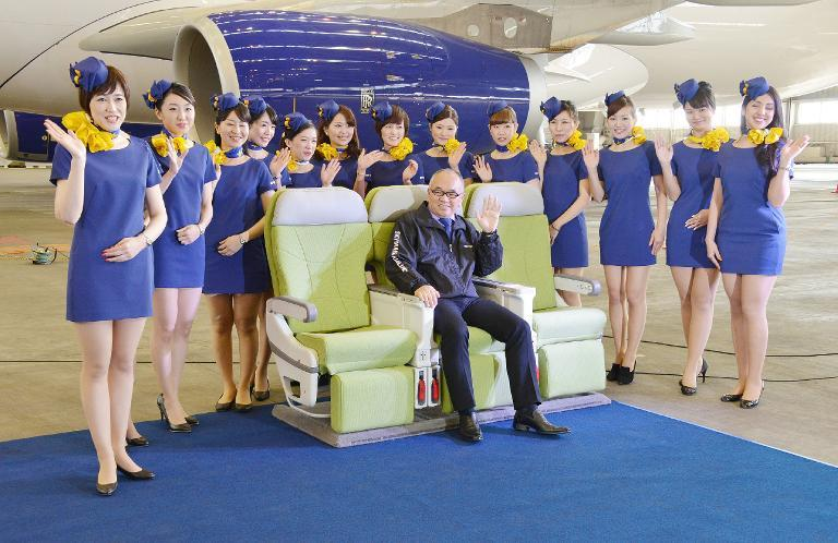 Skymark's air attendenats get my vote