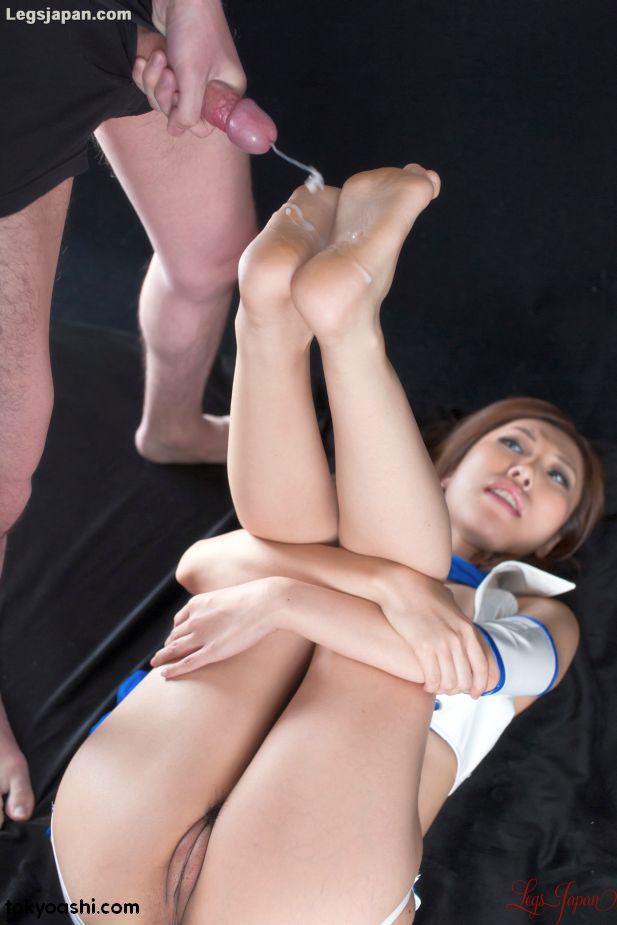 Rin Miura, foot,job,sex,erotic,ashi